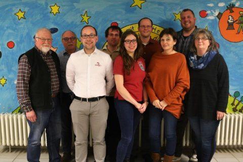 """Der Vorstand des Jahres 2019 des Musikverein """"Siegklang"""" Meindorf"""