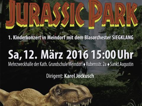 Plakat des 1. Kinderkonzerts in Meindorf
